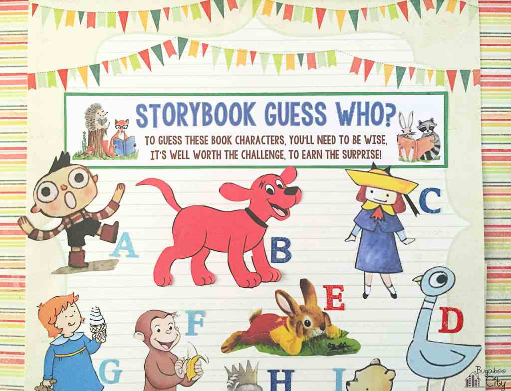 Storybook Party - Storybook Guess Who Game?