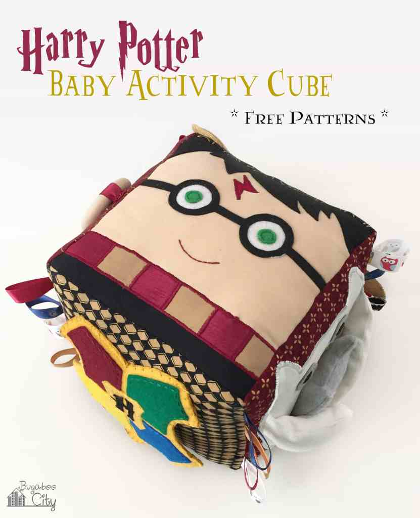 BugabooCity Harry Potter Fabric Baby Activity Cube