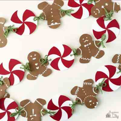 Gingerbread House Party with Gingerbread Man Banner Tutorial