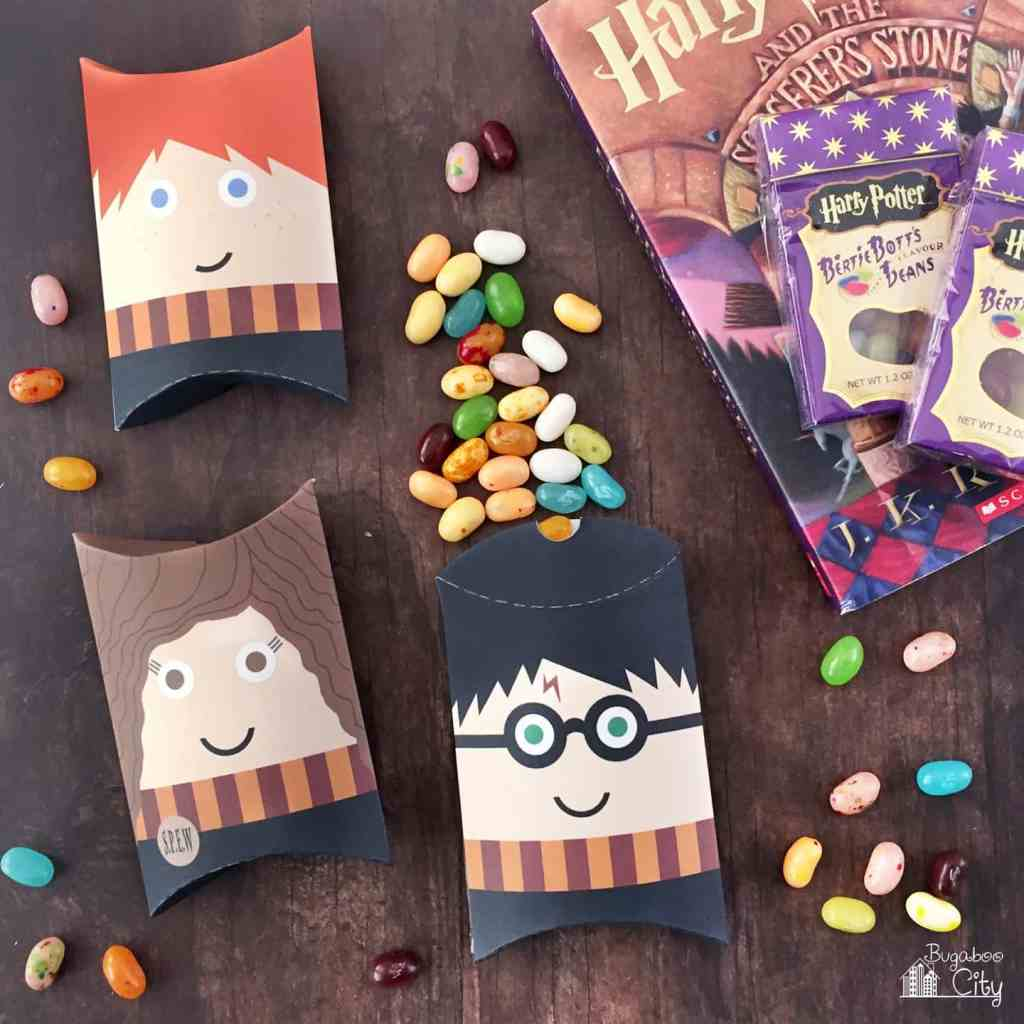 Harry Potter Pillow Box Treat Boxes