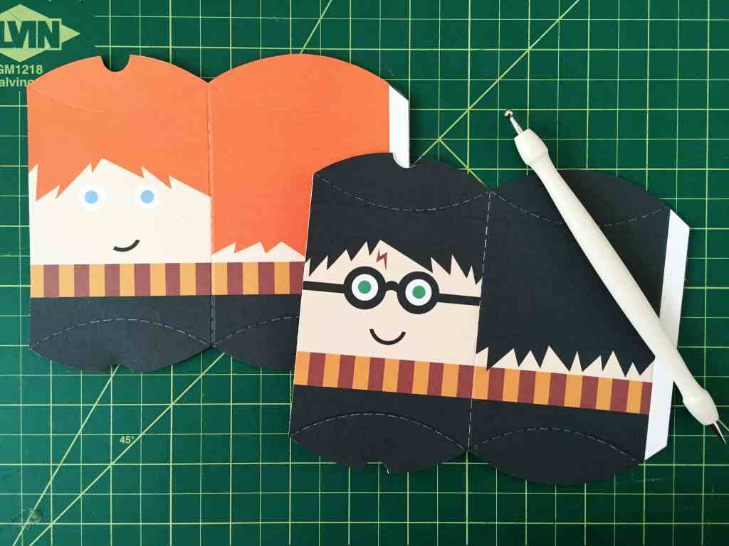 Harry Potter Pillow Box Treat Boxes and Party Favors