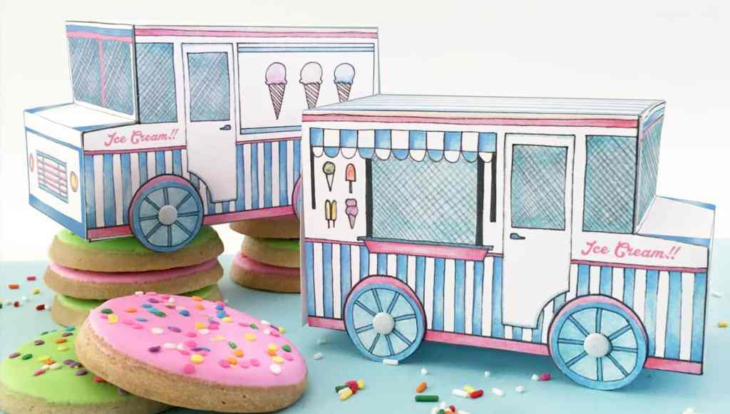 Ice Cream Truck Treat Box Featured Image