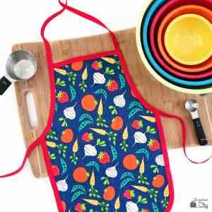 DIY Children's Cooking Apron
