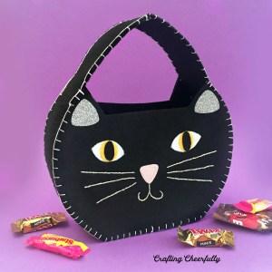 DIY Halloween Cat Treat Bag