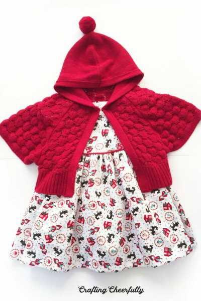 Little Red Riding Hood Baby Dress