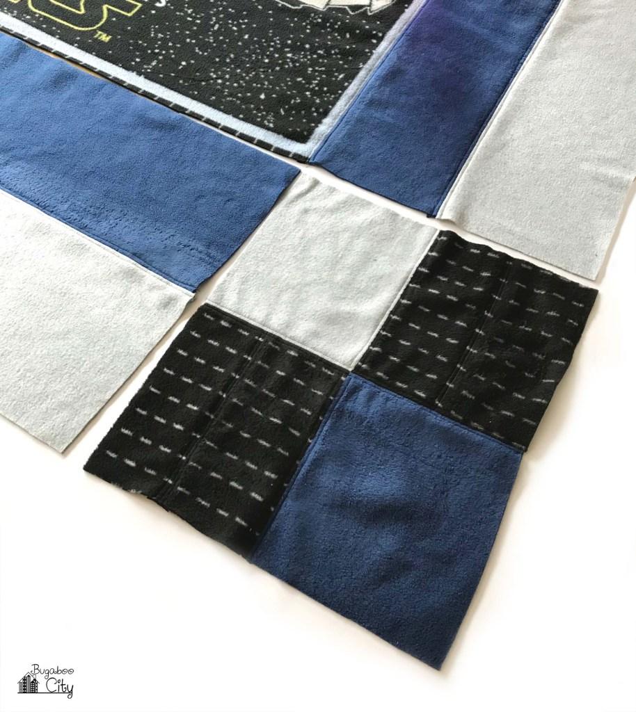DIY Star Wars Fleece Quilt with Free Pattern