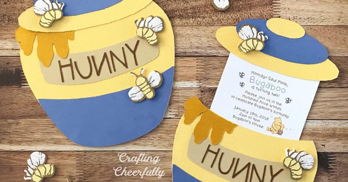 diy honey pot slider card and party