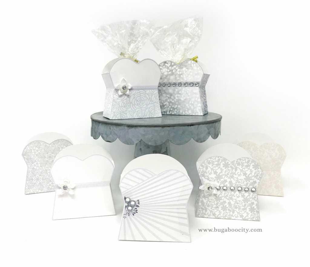 DIY Wedding Dress Treat Box, Bridal Shower Wedding Favor