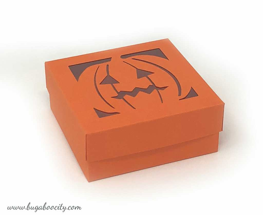 DIY Halloween Treat Boxes with Free SVG Cut Files