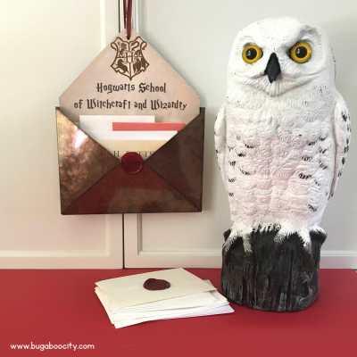 Harry Potter DIY Mail Holder