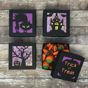 DIY Halloween Boxes with Free SVG Cut Files – (Part 2!)