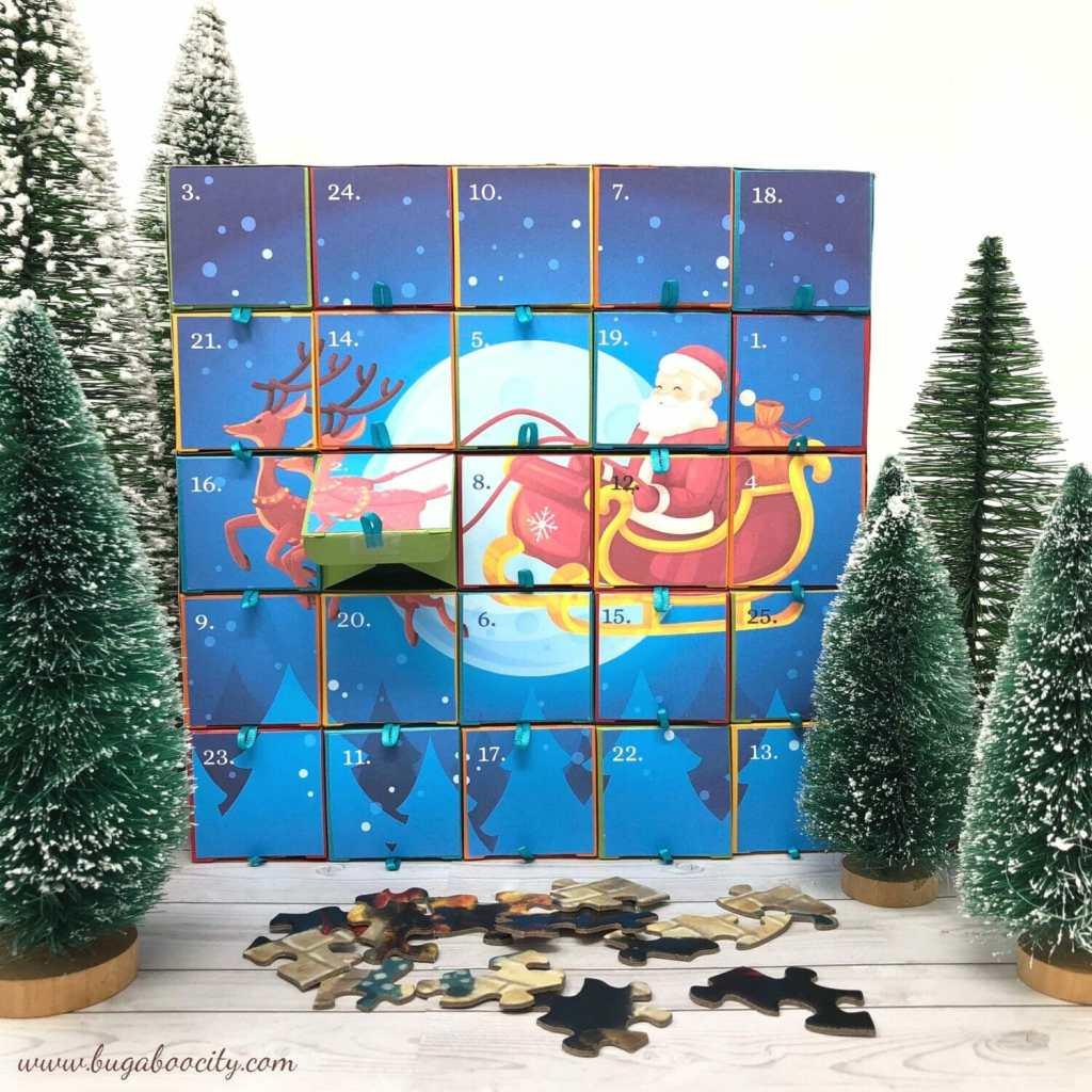 Free Printable DIY Advent Calendars