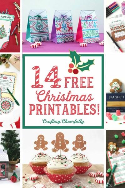 14 Free Christmas Printables