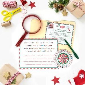 Christmas Secret Decoder Wheel – Free Printable