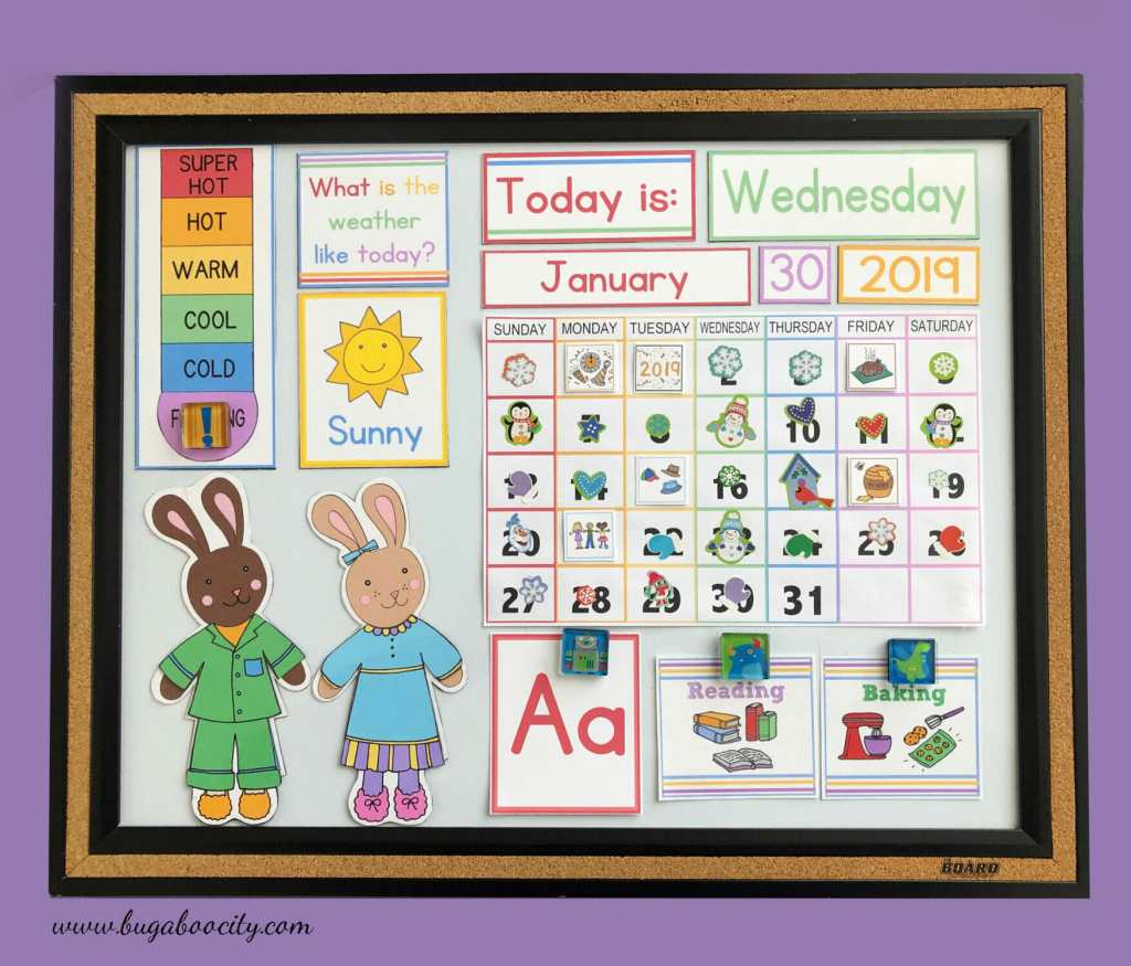 Free Printable ABC Cards - Children's Calendar Cards