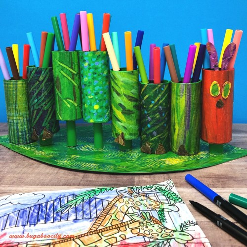 The Hungry Caterpillar Marker Holder