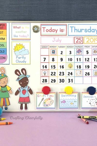 Newly Updated Calendar Cards!
