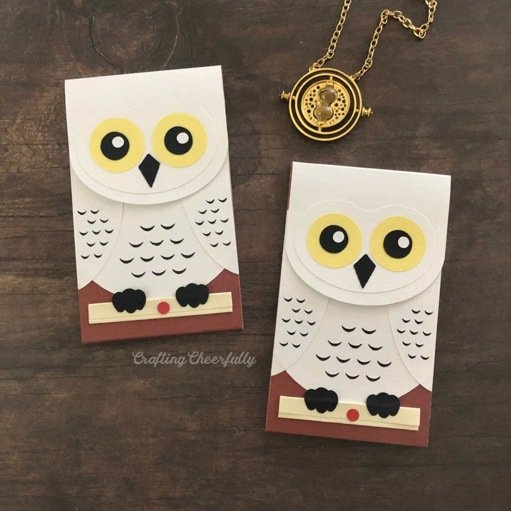 DIY Hedwig Owl Post Notepad