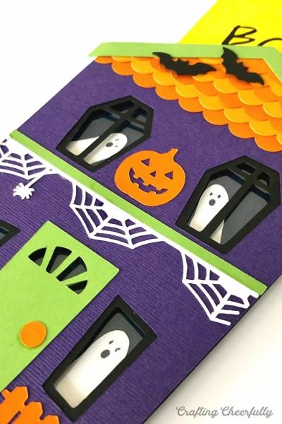 DIY Haunted House Slider Card – New Halloween SVG Cut File