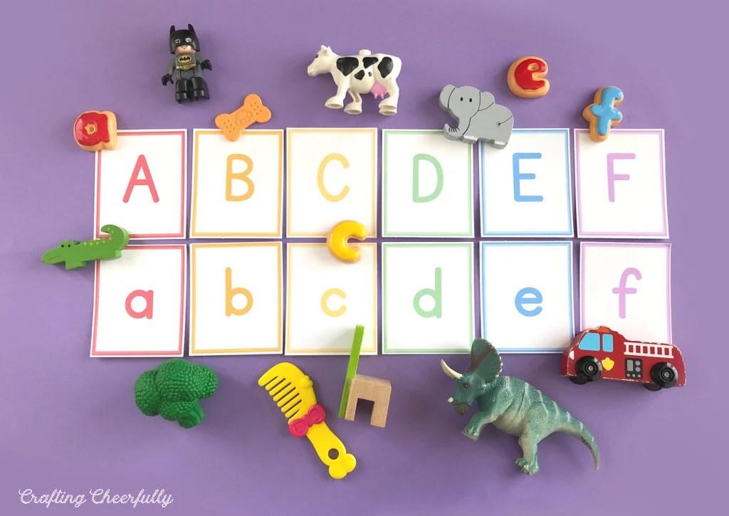 Free printable ABC cards