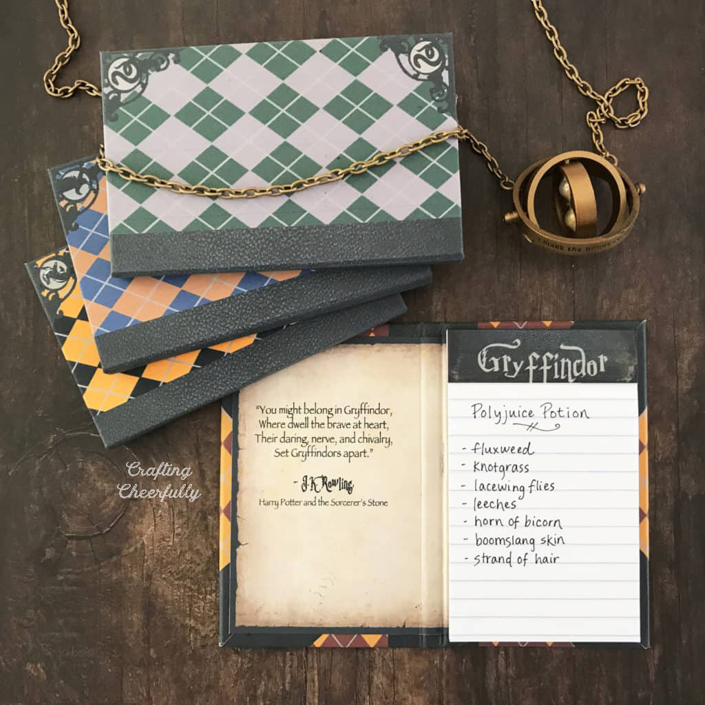 Free Printable Harry Potter Notepads