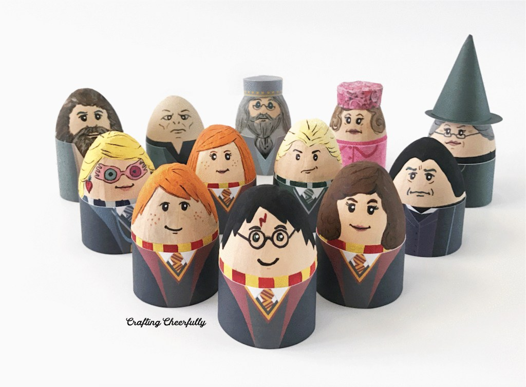 Free Printable Harry Potter Easter Egg Wrappers