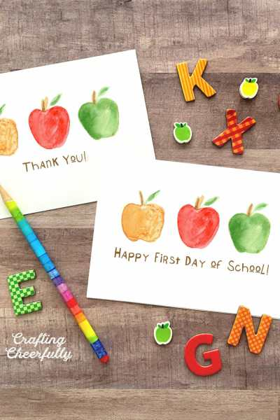First Day of School Card – Free Printable!