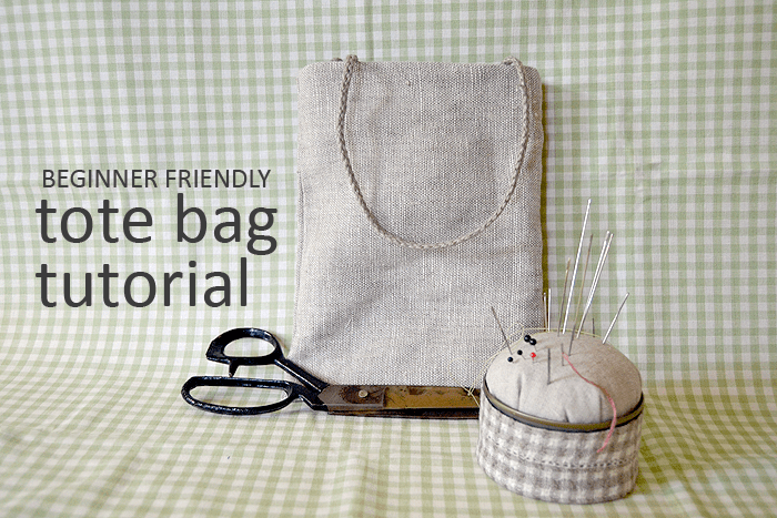 Beginner Friendly Tote Bag Tutorial And 3 Ways To Pretty It Up Crafting Fingers