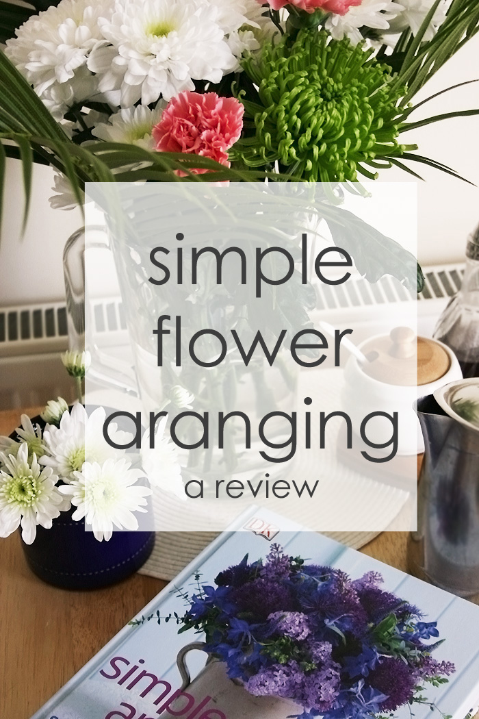 Simple Flower Arranging   Crafting Fingers