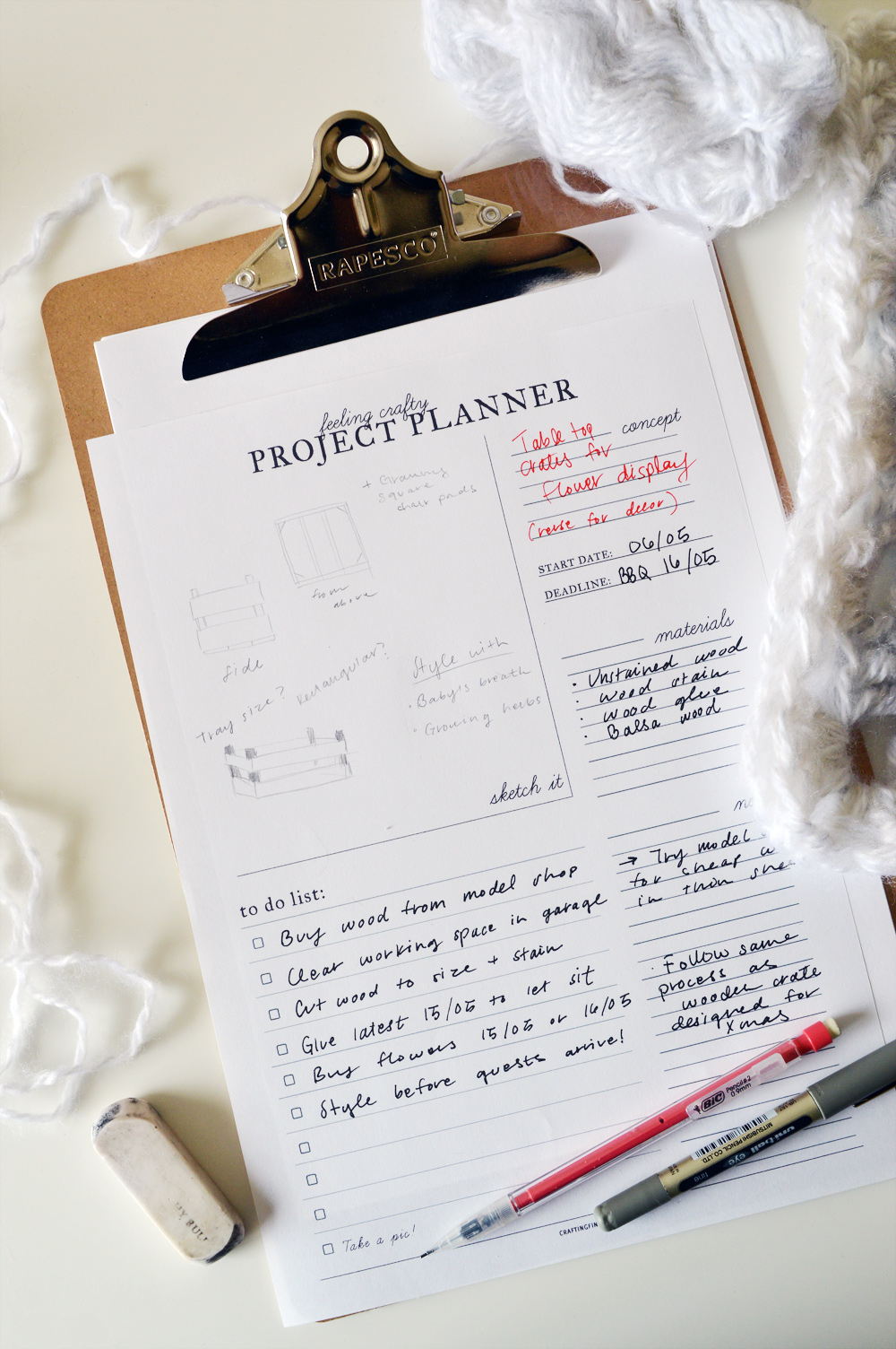 free project planner