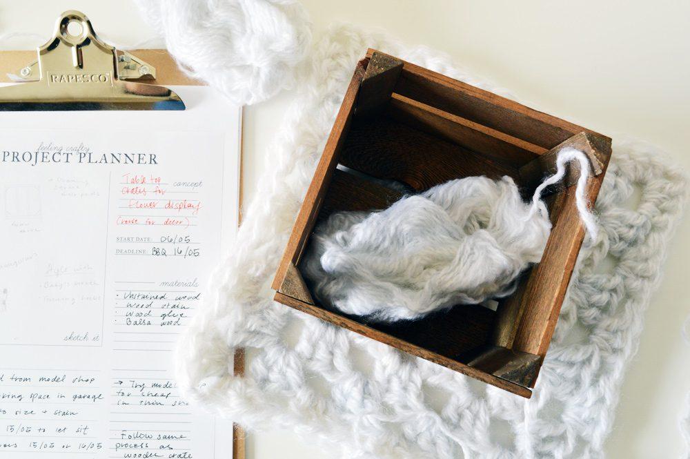 Printable craft project planner    #crafts #DIY #printable #freebie