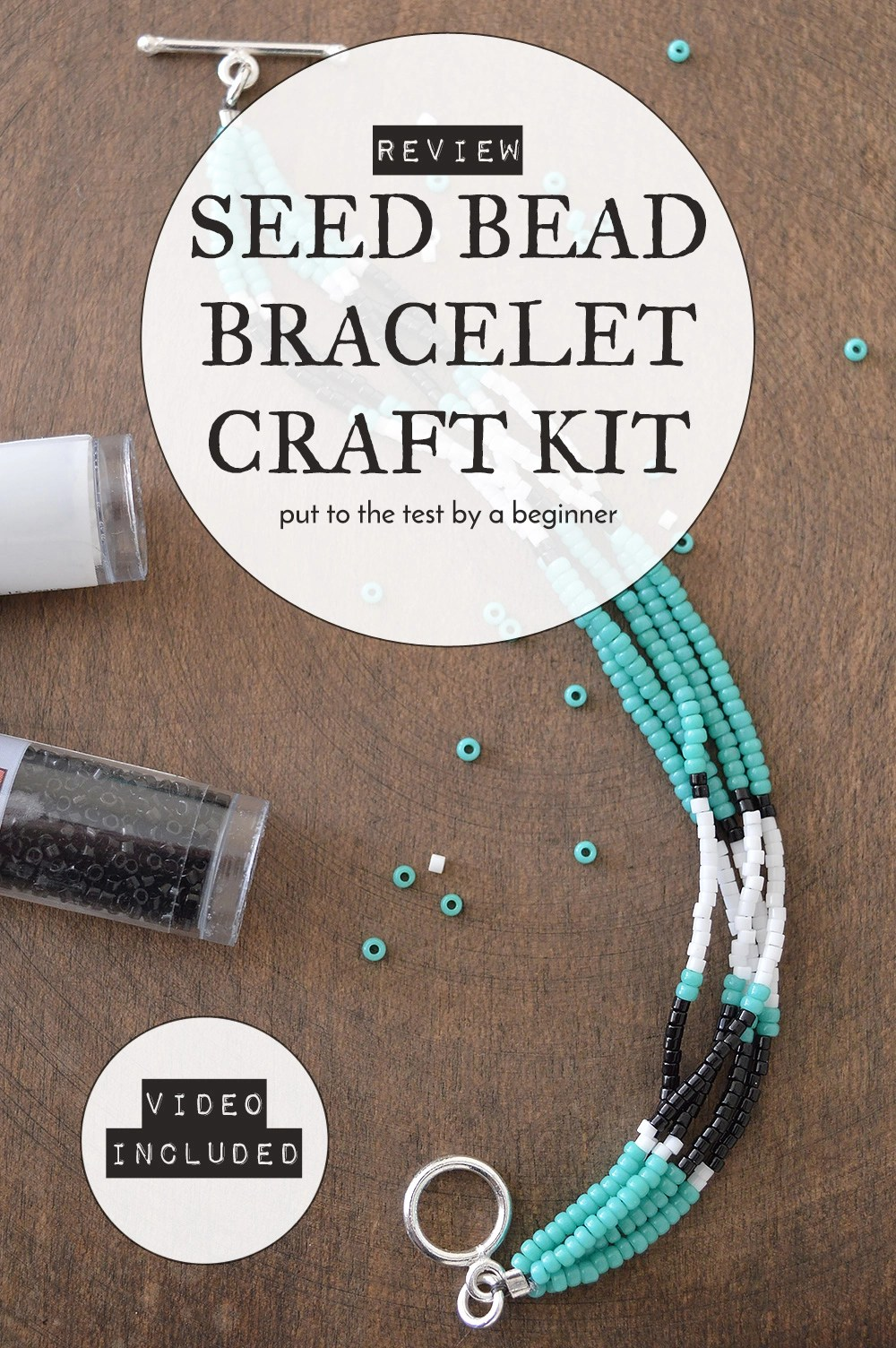 DIY Seed Bead Bracelet | Kit Review