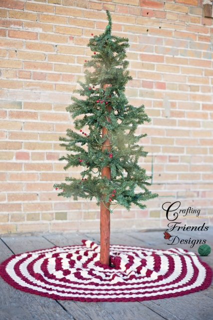 crochet christmas tree skirt etsy - Christmas Tree Skirts Etsy