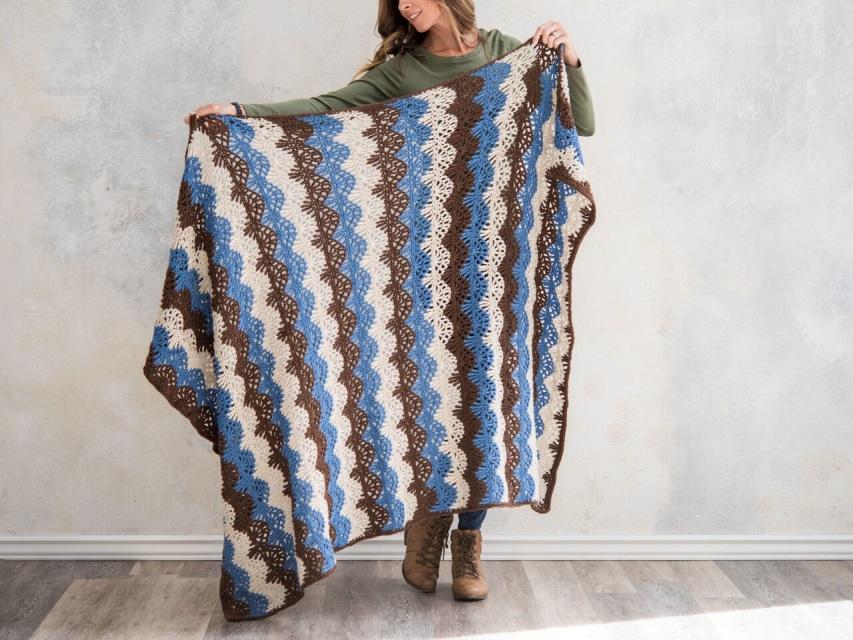 Vanna White Afghan Crochet Patterns