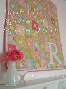 square in square quilt
