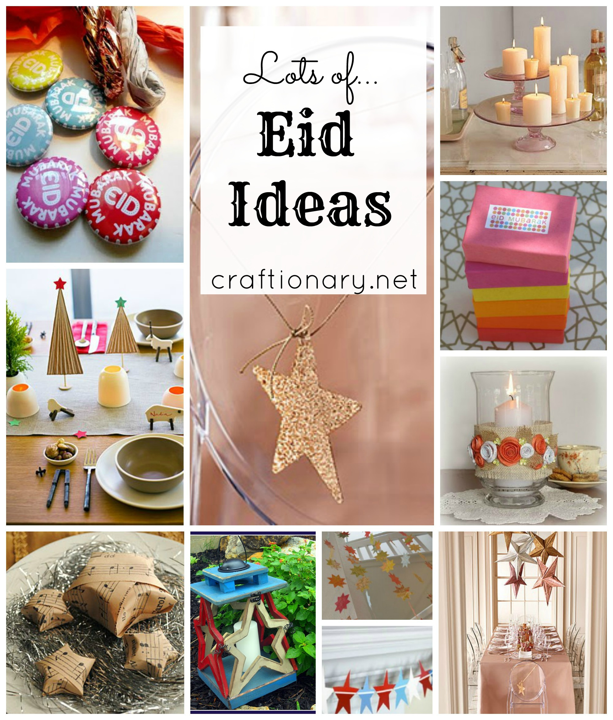 eid celebration decoration ideas crafts and diy projects