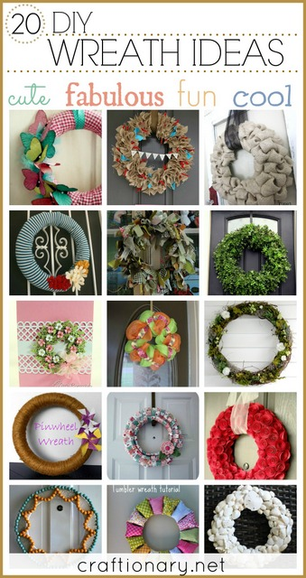 make diy wreaths