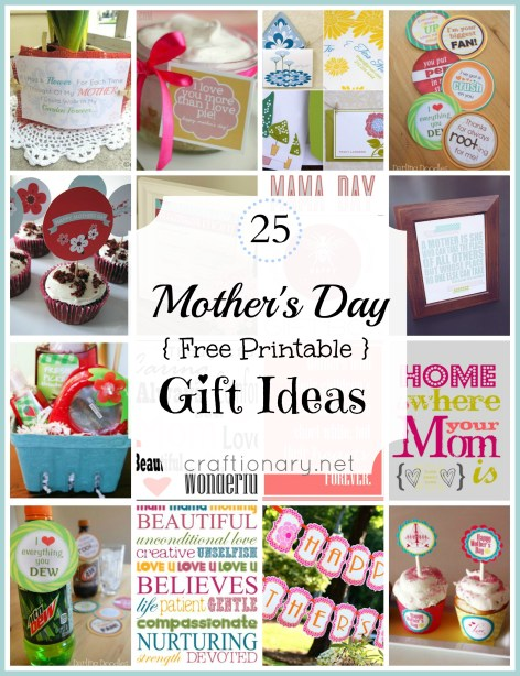 best mothers day free printables gift ideas