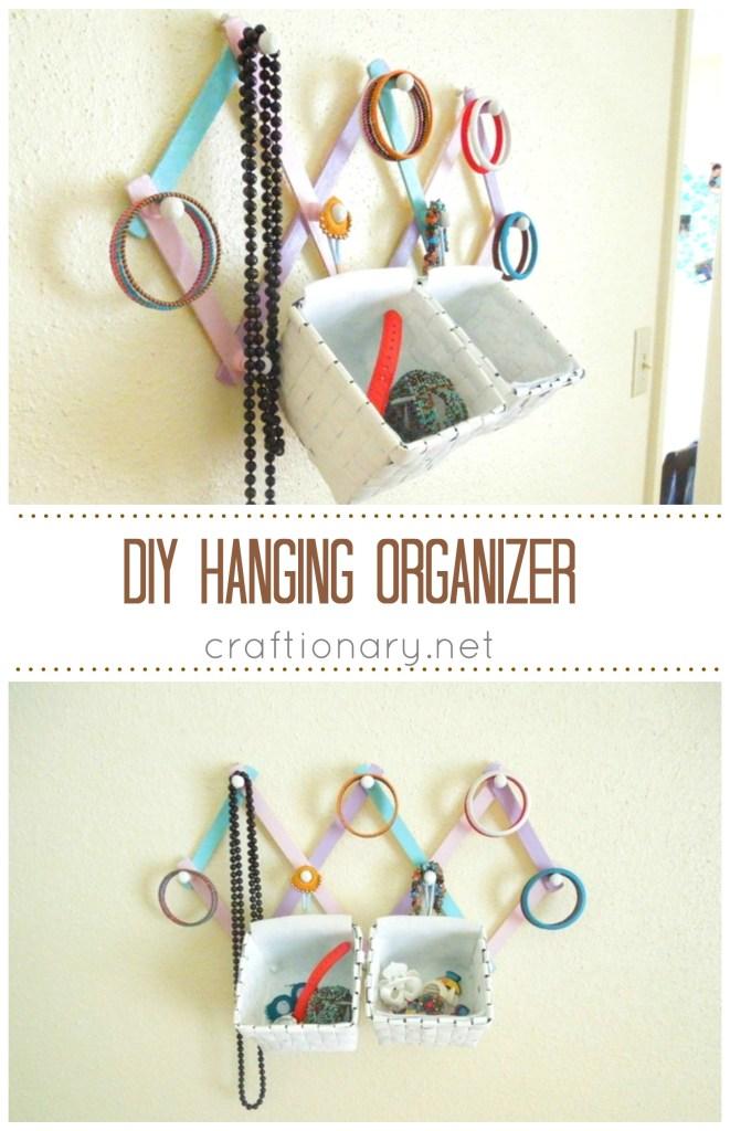$2 Hanging Organizer