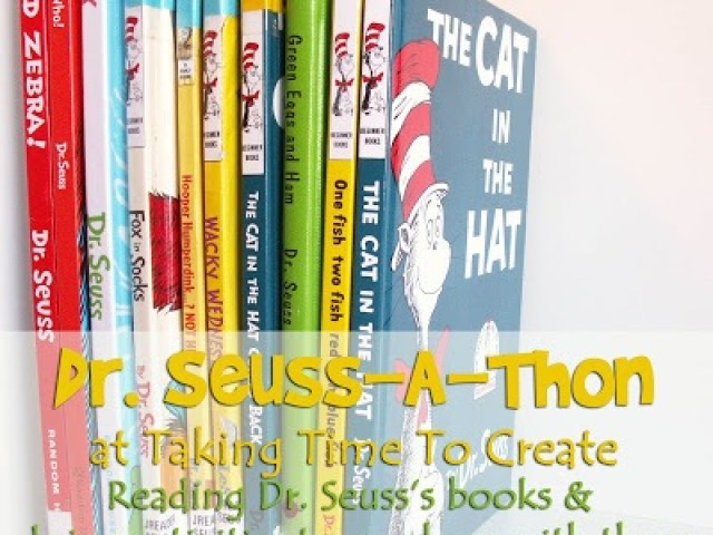 dr seuss reading activities