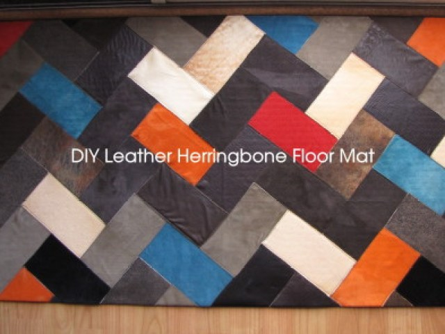 make leather mat