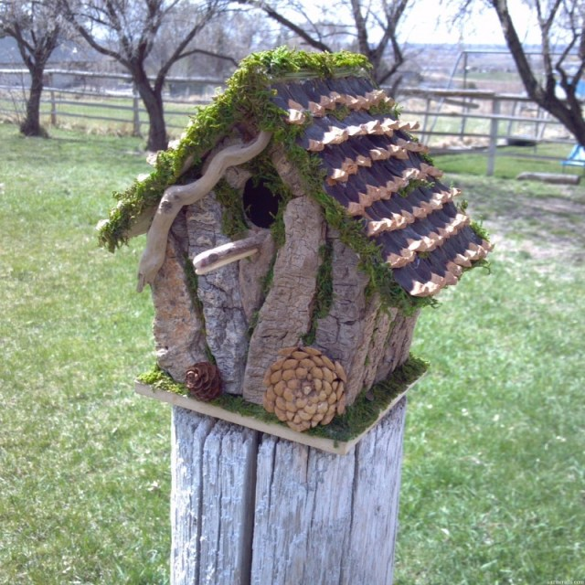make birdhouses