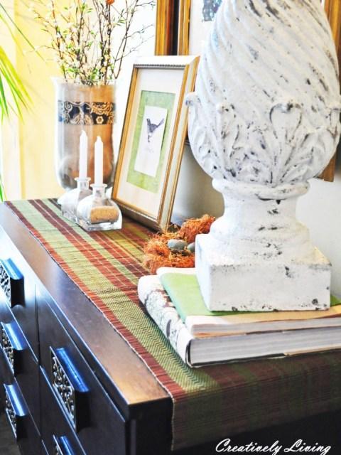 place mat tabler unner