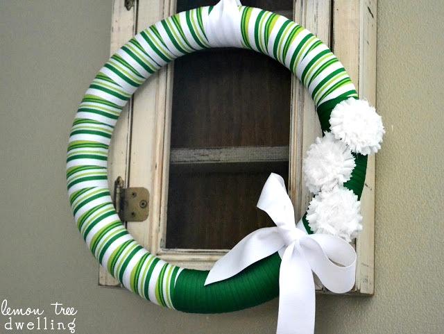 St patricks day wreath