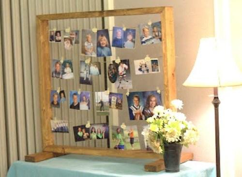diy photo display frame