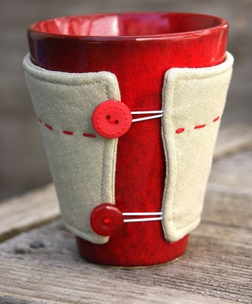mug cozy just for him
