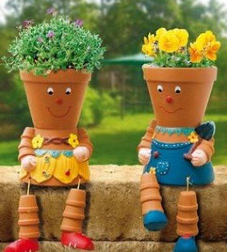 kids gardening planters