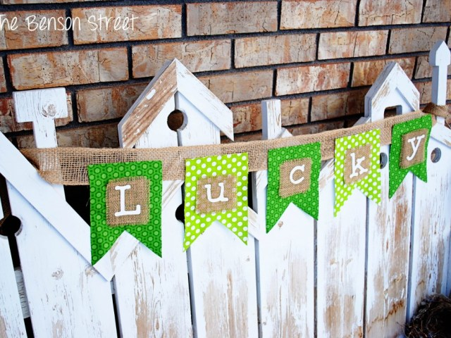 st patricks day garland