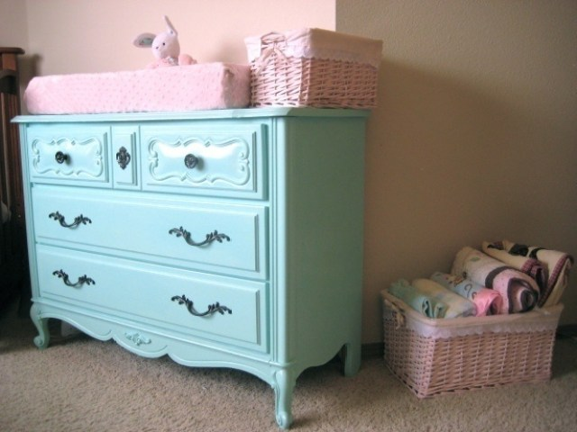 What Color To Paint Your Furniture 25, How To Paint Wood Furniture Bright Colors