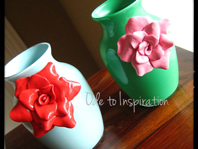 anthropologie clay vases